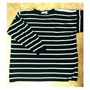 Sweaters - Striped sweater with pocket
